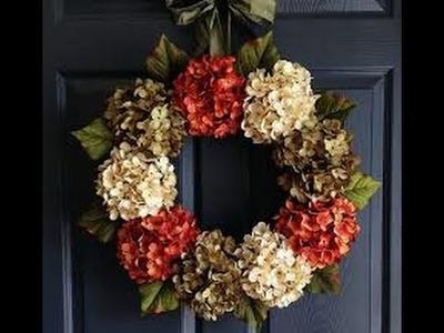 DIY: Wreath & Outdoor Fall Decor