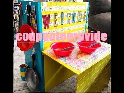 Dollar Store DIY | Kids Kitchen Idea | Kids in the Kitchen | Dollar Tree DIY