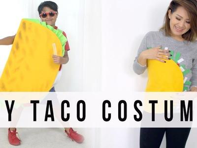 EASY HALLOWEEN DIY Taco Costume Ideas | ANN LE