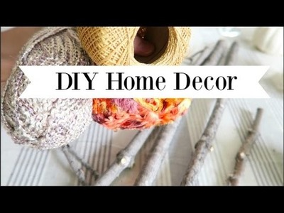 FALL DIY + DECOR CHALLENGE | Eclectic Fall Centerpiece