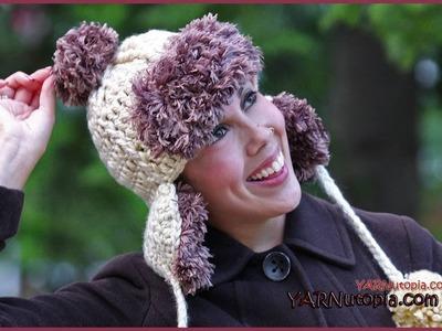 How to Crochet a Faux Fur Hat