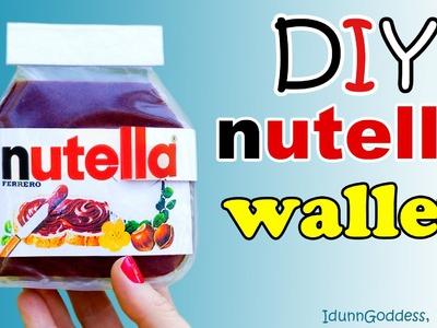 How To Make A Nutella Wallet – DIY Nutella Wallet