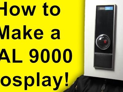 How To Make Hal 9000 (Cosplay DIY)