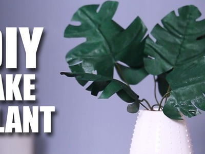 Mad Stuff With Rob - How To Make A Fake Plant | DIY Room Decor Idea