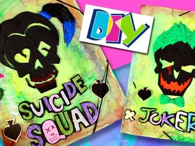 Personalized FOLDERS * DIY SUICIDE SQUAD Harley Quinn & Joker