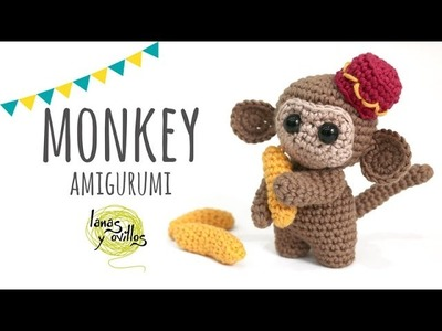 Tutorial Monkey Amigurumi | Crochet