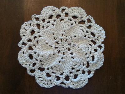 Crochet Swirl Motif Part 1