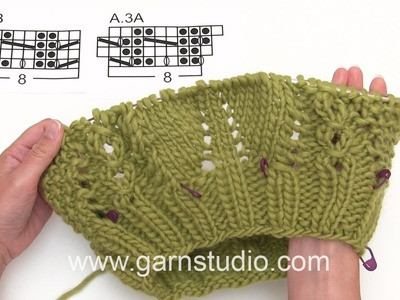 DROPS Knitting Tutorial: How to work the neck warmer in DROPS 171-18