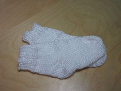 How to knit baby socks for beginners