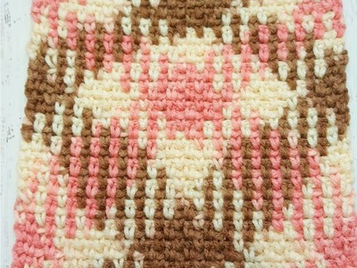 Learn to work Yarn Pooling in Crochet