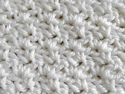 Wattle Stitch - Crochet Tutorial