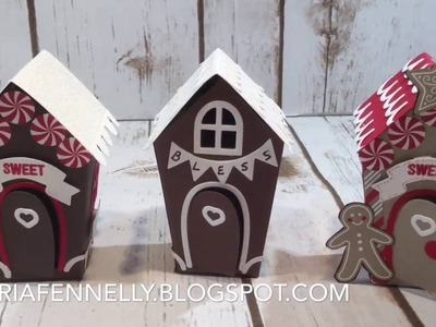 Home Sweet Home Stampin' Up How to cut and assemble