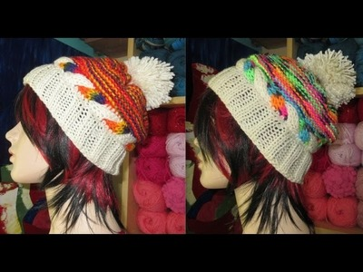 How to knit hat for beginners