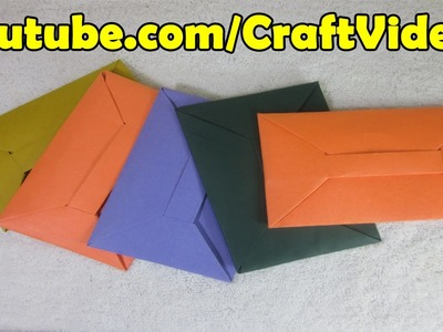 How to make an Origami Envelope as a teachers day gift ideas