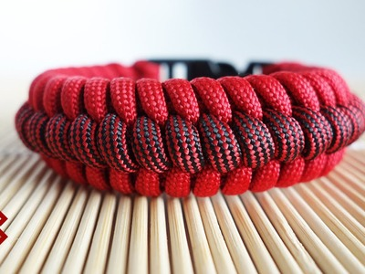 How to Make the Ridged Fishtail Paracord Bracelet Tutorial