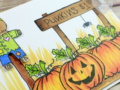Creating a Scene: How To Draw A Sign on Your Card