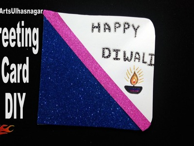 DIY Easy Diwali Greeting Card | School Project for Kids | How to make | JK Easy Craft 196