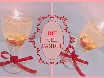 DIY GEL CANDLE |HOW TO MAKE GEL CANDLES AT HOME | CRAFTY ZILLA |