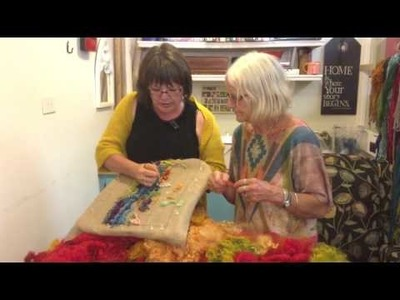 Hooked with Deanne Fitzpatrick - How do you hook with Fleece?