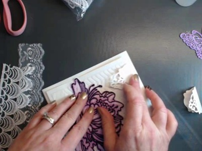 How I use Shabby is Chic to decorate CARDS!