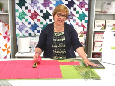 How to Cut Width of Fabric Strips for AccuQuilt GO! Dies (Quick Tips)