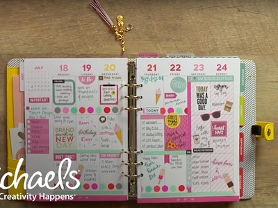 How To Decorate Your Planner | Michaels