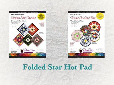 How To: Folded Star Hot Pad
