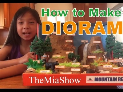 How to Make a Diorama - Awesome Tips!