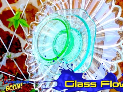 How to make a Glass Flower - April's YouTube Debut!