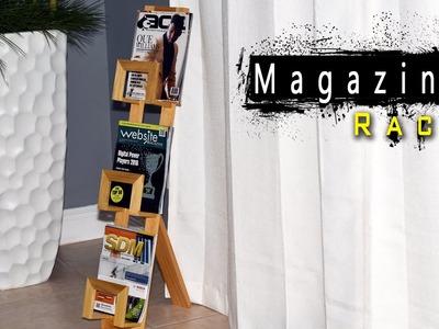 How To Make A Magazine Rack