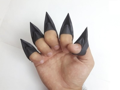 How to make a paper Cat's Claws?