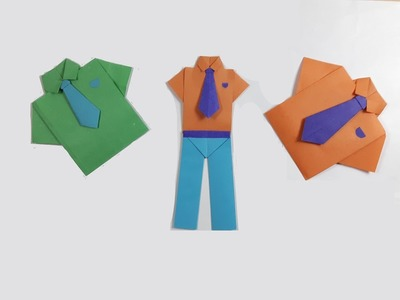 How to make a paper Pants? (easy)