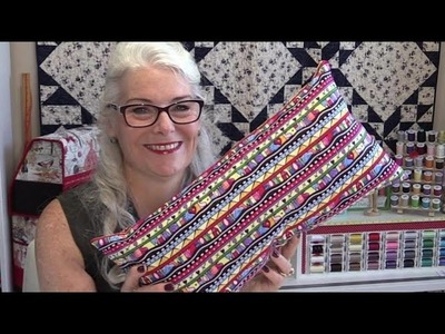How to Make a Quick and Easy Pillow Back
