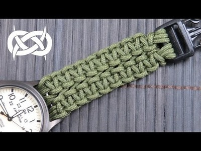 How to make a Wide Solomon Paracord Watch Band