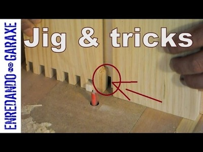 How to make and use a finger joint router table jig