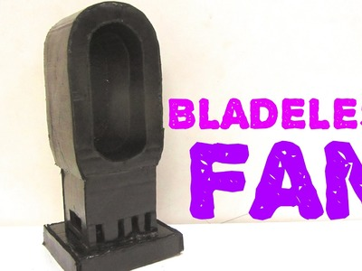 How To Make Bladeless Fan at home - Within 10 mins