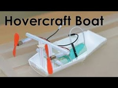How To Make Electric Boat Homemade Things VVK Technical