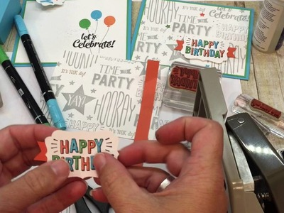 How to make fun Birthday Cards for anyone on your list!