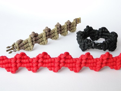 """How to Make """"Heartbeats"""" Paracord Survival Bracelet By CreationsByS"""