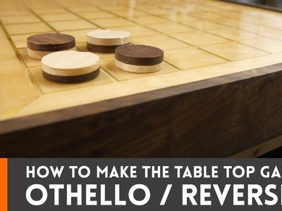 How to make Othello. Reversi (tabletop game)