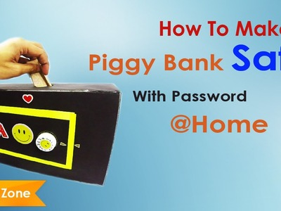 How to make Piggy Bank Safe Password protected Piggy Bank