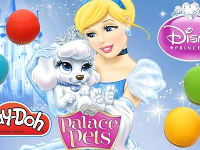 How To Make Pumpkin from Disney Princess Palace Pets out of Play Doh | DCTC Play Doh Videos