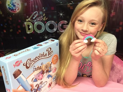How to make your own candy using a chocolate pen. Toys R us mega haul toy review with princess Ella