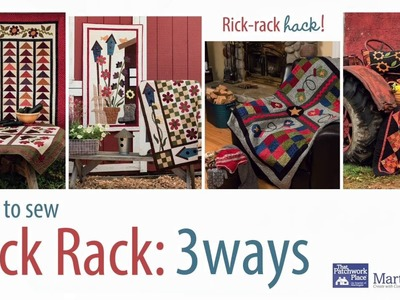 How to Sew Rick Rack: 3 Ways