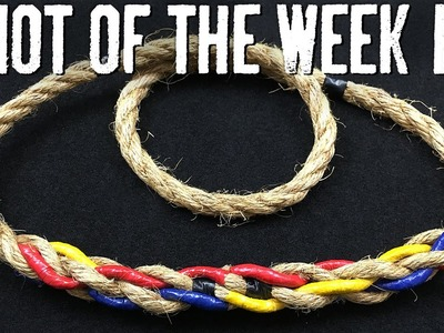 How to Short Splice a Natural Fiber Rope - ITS Knot of the Week HD