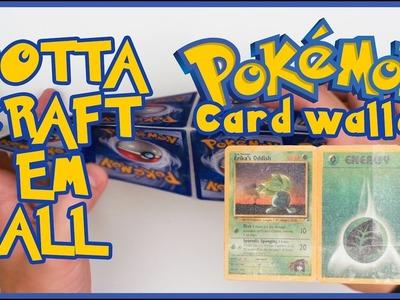 Make a Pokémon Card Wallet! How to - Gotta Craft em All