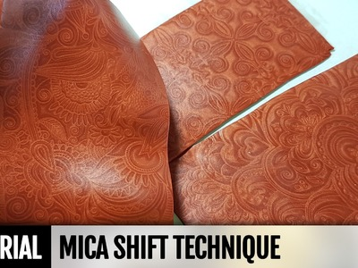 Polymer Clay Technique - Mica Shift. FREE Video Tutorial. How to make | Polymer clay tutorial