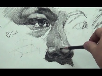 How to Draw Nose #3