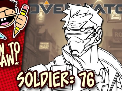 How to Draw SOLDIER: 76 (Overwatch) | Easy Step-by-Step Drawing Tutorial