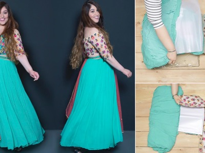 How To Fold Your Anarkali Perfectly | Glamrs.com